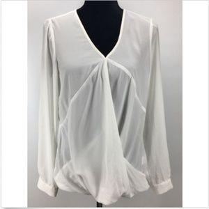 Ro&De Long Sleeve Blouse Women's Size M Medium